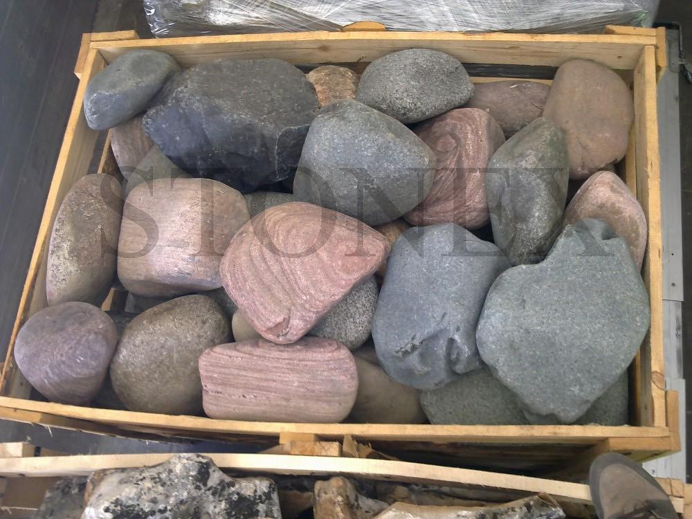 Pietre di fiume stonex pietre naturale pietra for Pietre di fiume